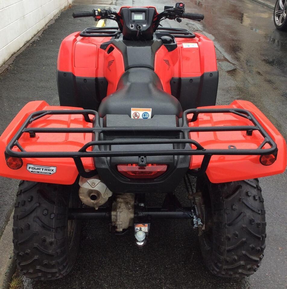 2015 HONDA TRX500 FM MANUAL FOREMAN 4x2x4 4WD QUAD BIKE ATV FOUR WHEELER