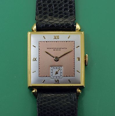 Vintage 1930's Vacheron Constantin Classic 18k Gold Men's  Watch