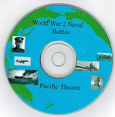 WW 2 Naval Battles - Pacific CD Version - Print your own Game  ()