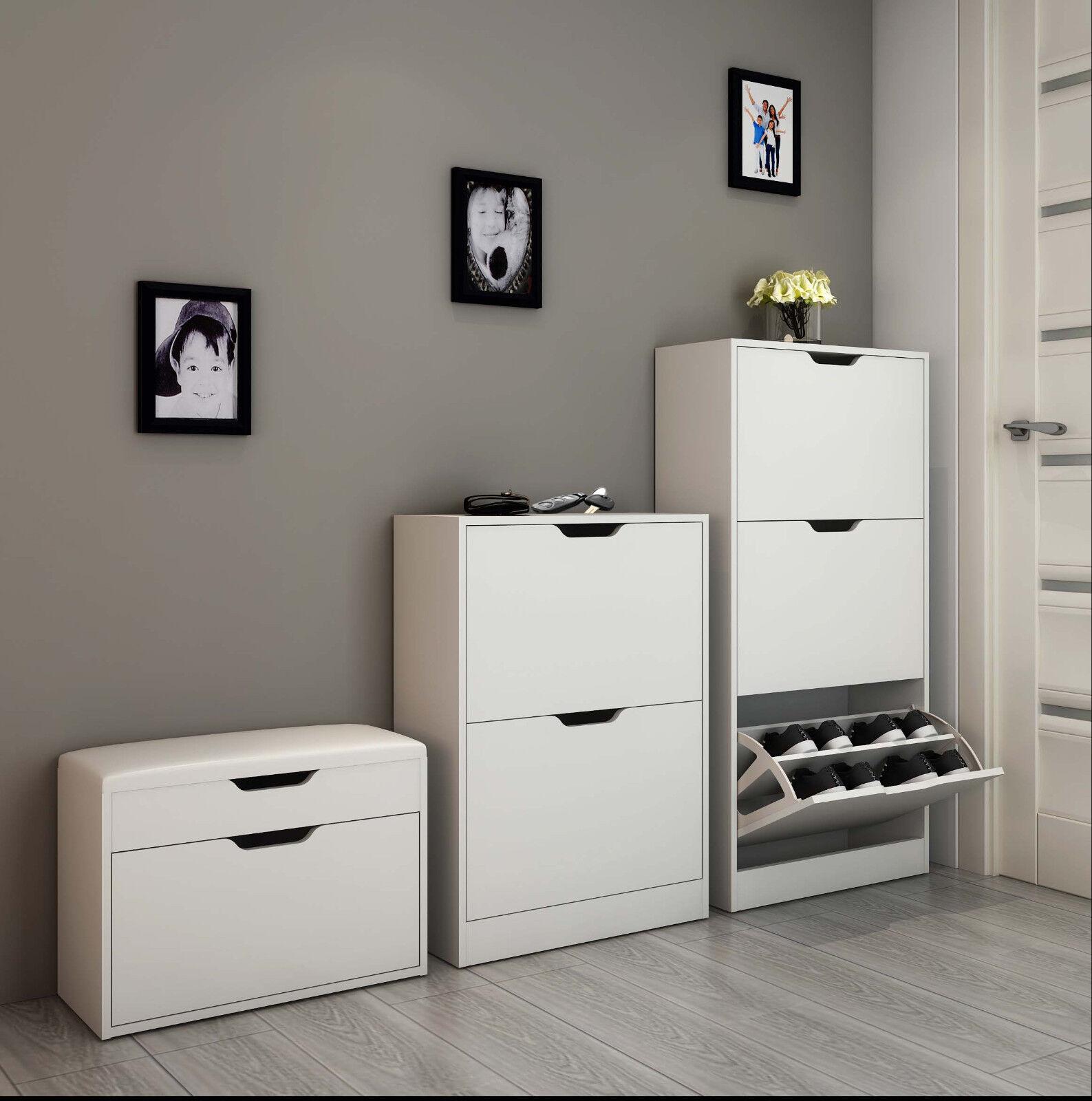 schuhregal weiss test vergleich schuhregal weiss g nstig kaufen. Black Bedroom Furniture Sets. Home Design Ideas