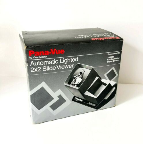PANA-VUE Lighted 2 X 2 Slide Viewer by VIEWMASTER in original box