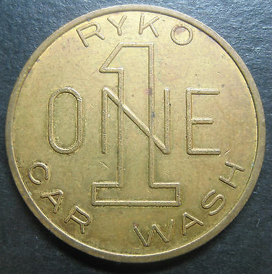 Ryko One Car Wash Token!