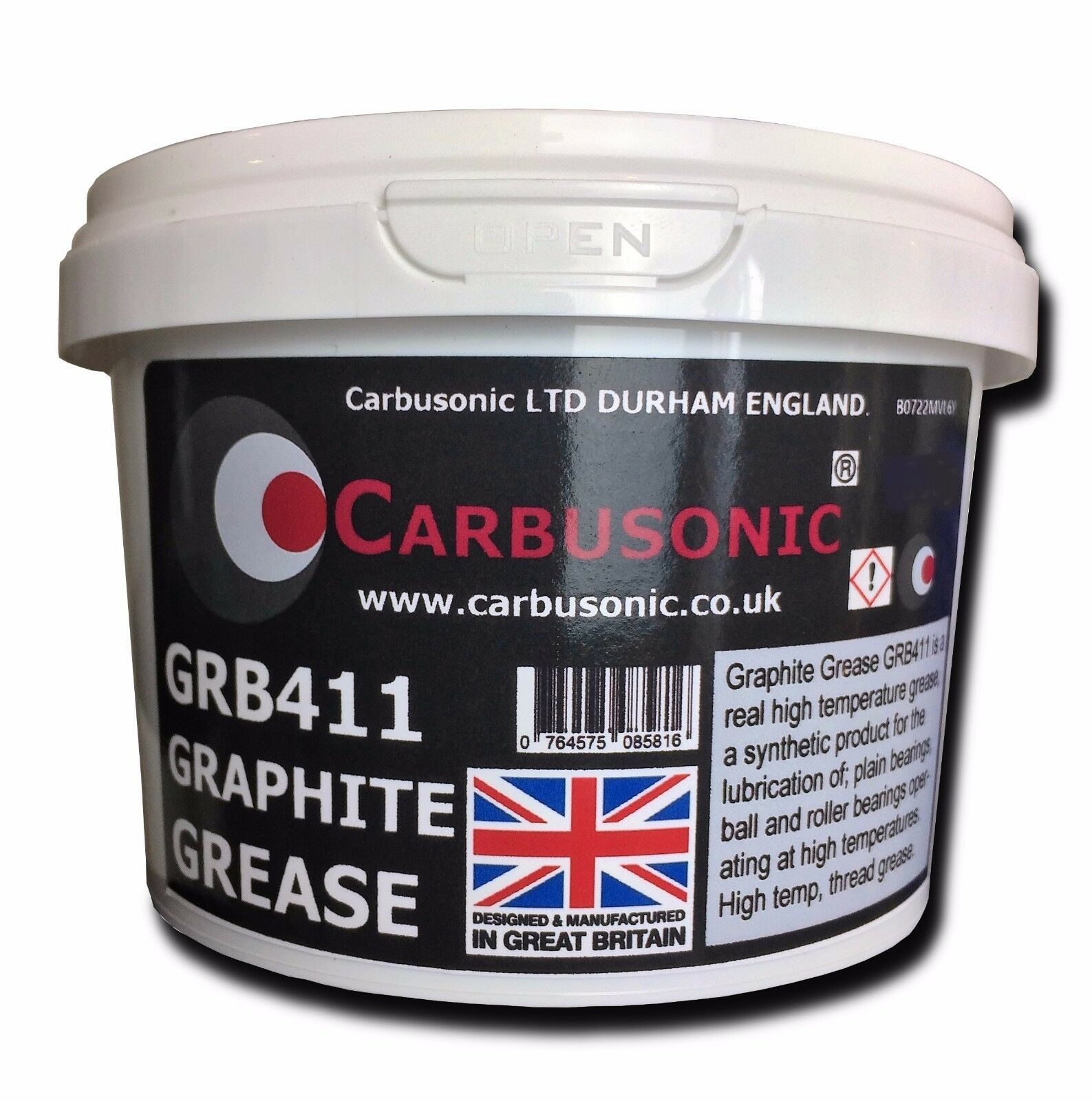 Graphite grease fully synthetic high temperature grease, graphite thread grease