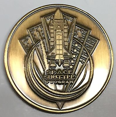 N506    NASA  SPACE  COIN /  MEDAL,   SPACE SHUTTLE  PROGRAM