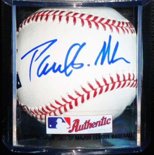 PAUL ALLEN MICROSOFT HAND SIGNED AUTOGRAPHED OML BASEBALL! RARE! W/ EXACT PROOF!