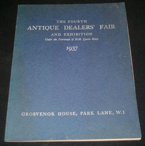 ANTIQUE DEALERS FAIR & EXHIBITION 1937 CATALOGUE 106 pages