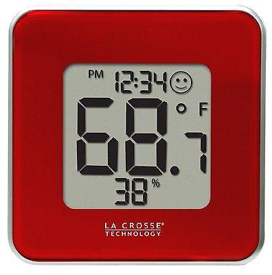 302-604R La Crosse Technology Indoor Comfort Level Station Red - Refurbished