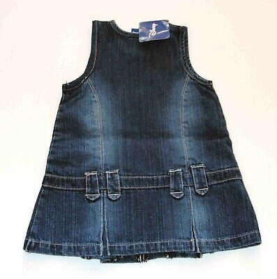 Jeanskleid - Größe 80/12M, blau, Kleid Kinder Mädchen ()