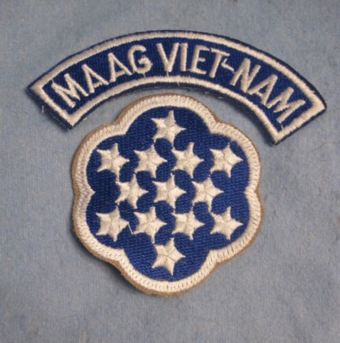 Army MAAG- VIETNAM Tab & Shoulder Patch.