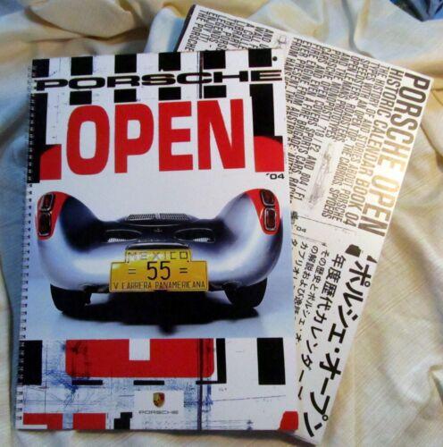 2004 Porsche Historic Calendar Book Collectors Ed COMPARE CONDITION - REDUCED!