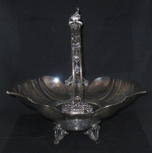 Meriden Britannia Silverplate Swing Handle Bride