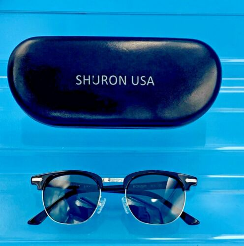 VINTAGE SHURON RONSIR ESCAPADES 50MM POLARIZED SUNGLASSES 4820 WITH CASE USA