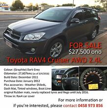 Toyota Rav4 Cruiser AWD 2.4L Automatic (For Sale) ONO Alice Springs Alice Springs Area Preview