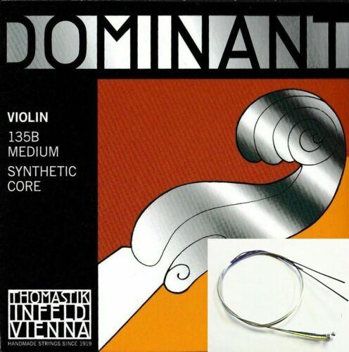 Thomastik Dominant 135B Violin String Set 4/4 Size E Ball,Same Day Shipping