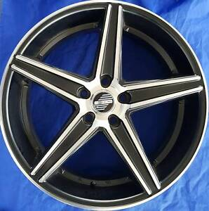 SET OF FOUR (4) AUSCAR 16x7 5/114.3 et45 REVOLVE Nambour Maroochydore Area Preview