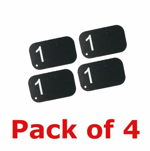 4 Pack Size #1 Air Techniques Type X-Ray Phosphor Plates PSP