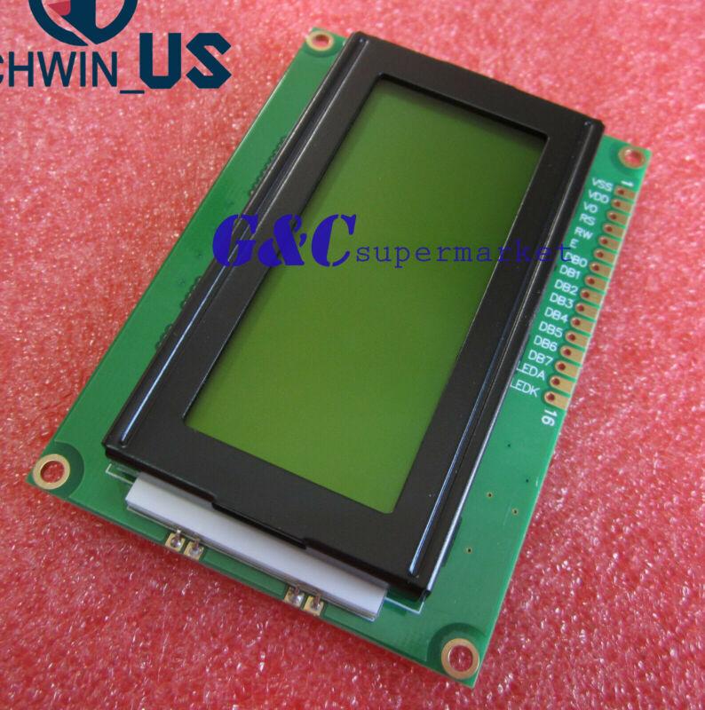 Lcd1604 16x4 Character Lcd Display Module Lcm Yellow Blacklight 5v Arduino L3us