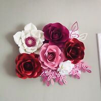 Paper flower backdrop, nursery decor, wedding/party backdrop,