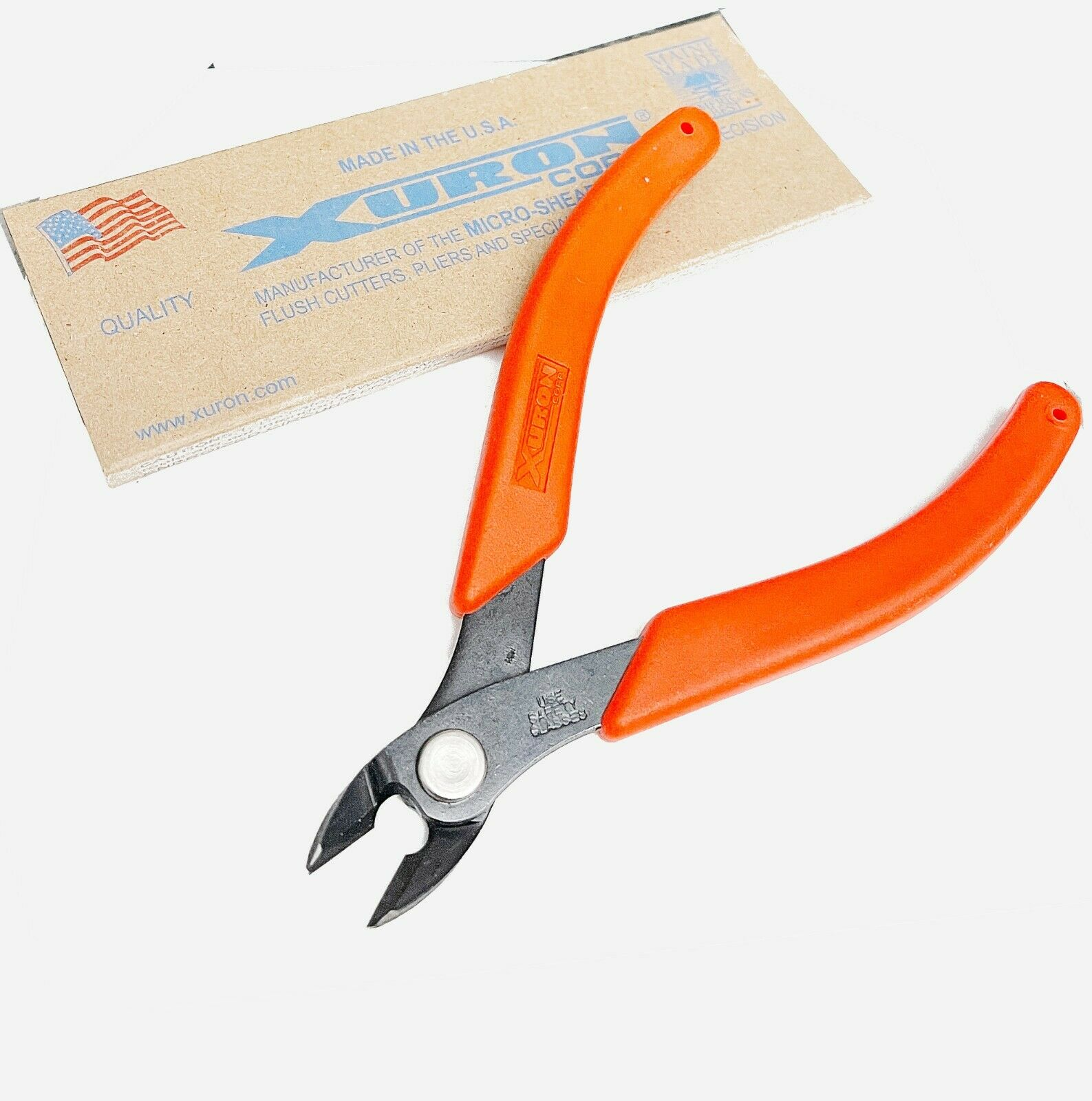 Xuron 2175 Maxi Shear Cutter Flush Cutting Shears Maxishear Micro-Shear Cutting - $15.99