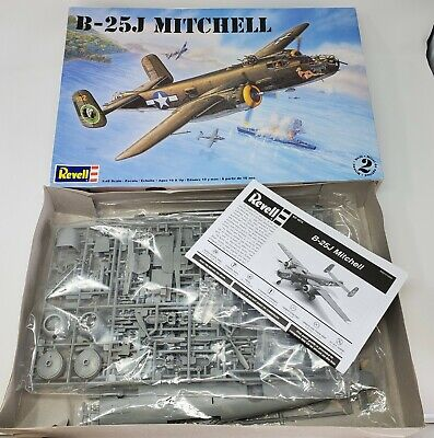 Revell B-25J Mitchell 1:48 Scale Open Complete GB-AW