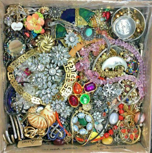 Jewelry Lot ALL Good Wear Resale Brooch Art Estate Vintage Modern 5 Pcs NO Junk