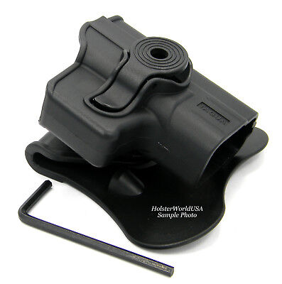 TAGUA Push Button Rotating Kydex OWB Paddle Holster for RUGER LCP 380