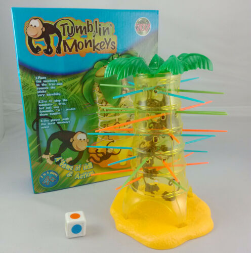 Cute Hot Sale Tumblin Falling Monkey Kids Childrens Family Fun Board Game Toy