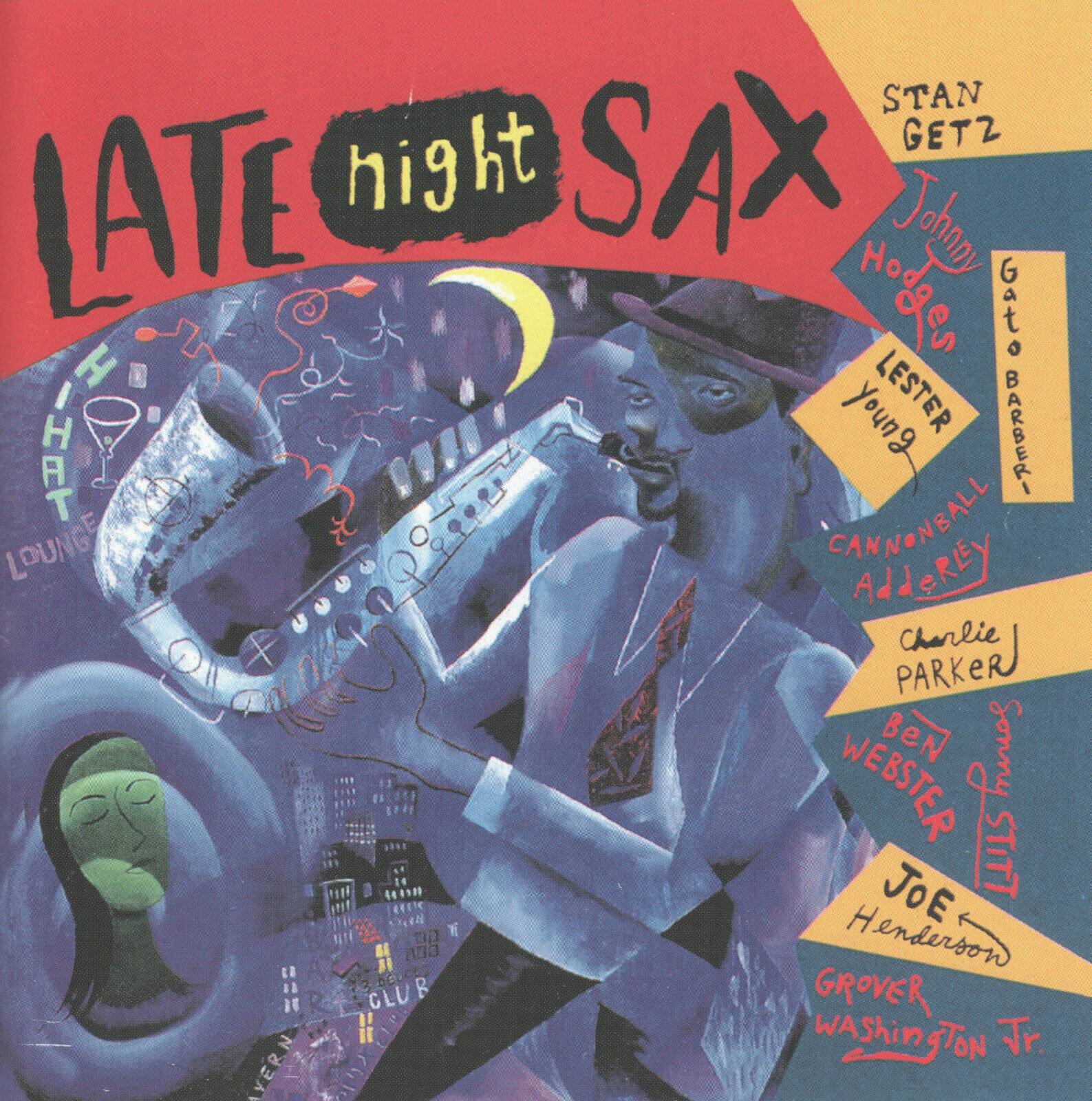 Late Night Sax By Various Artists CD, Universal Top Cool Jazz Saxophonists - $9.99