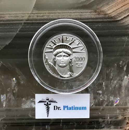 2000 Eagle, 1/2 oz 9995 Platinum Coin - DPPC8