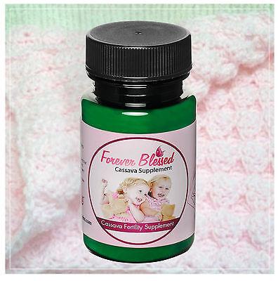 (6) Organic Cassava Root Fertility Pills - Vitamin Supplement for Twins  1