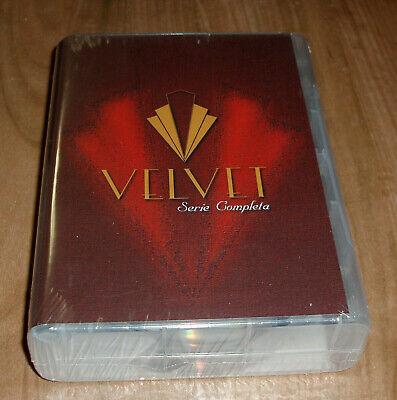 VELVET SERIE COMPLETA-1-4 TEMPORADAS 19 DISCOS DVD NUEVO (SIN ABRIR) R2