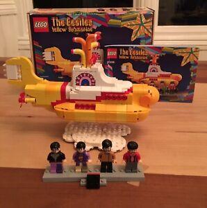 Yellow submarine LEGO set #21306