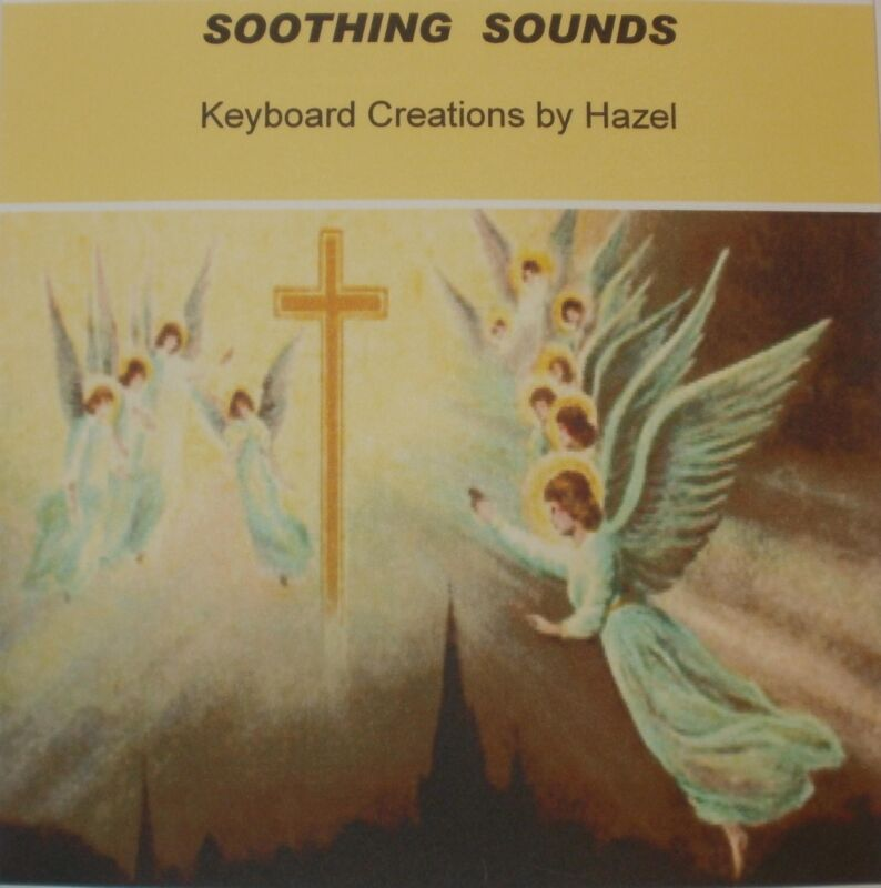 Soothing Sounds - Christian Song CD instrumental Piano Keyboard Accompaniment