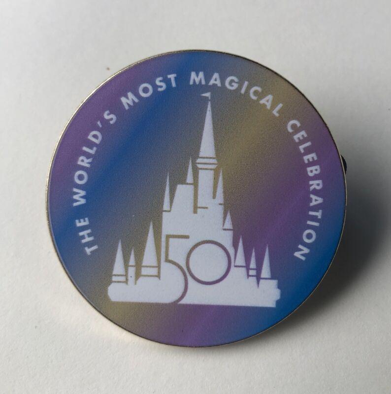Walt Disney World WDW 50th Anniversary Celebration Fantasy Pin Magic Kingdom