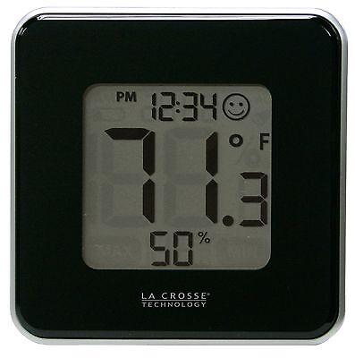 302-604B La Crosse Technology Indoor Comfort Level Staton Black - Refurbished