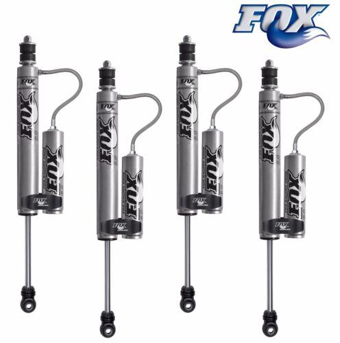 "Fox Remote Reservoir Shocks Front/rear 4-6"" Lift Kits For 84-01 Cherokee Xj"