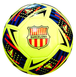 Barcelona Football Top Quality Soccer Ball FIFA Specified Size 5 - Spedster