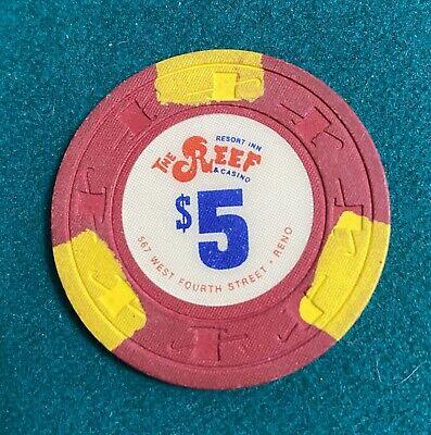 The Reef Reno, NV $5 Casino Chip