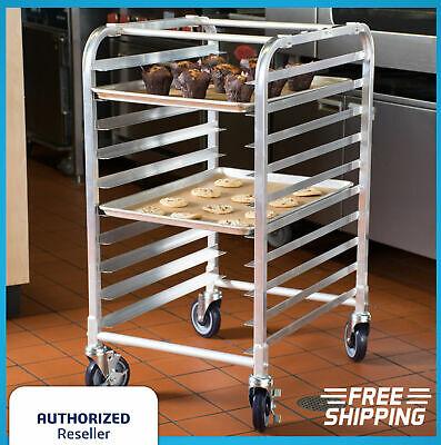 10 Pan End Load Half Height Bun Sheet Pan Rack Baking Bakery Commercial Cupcakes