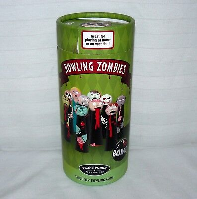 Front Porch Classics Bowling Zombies Tabletop Game Halloween