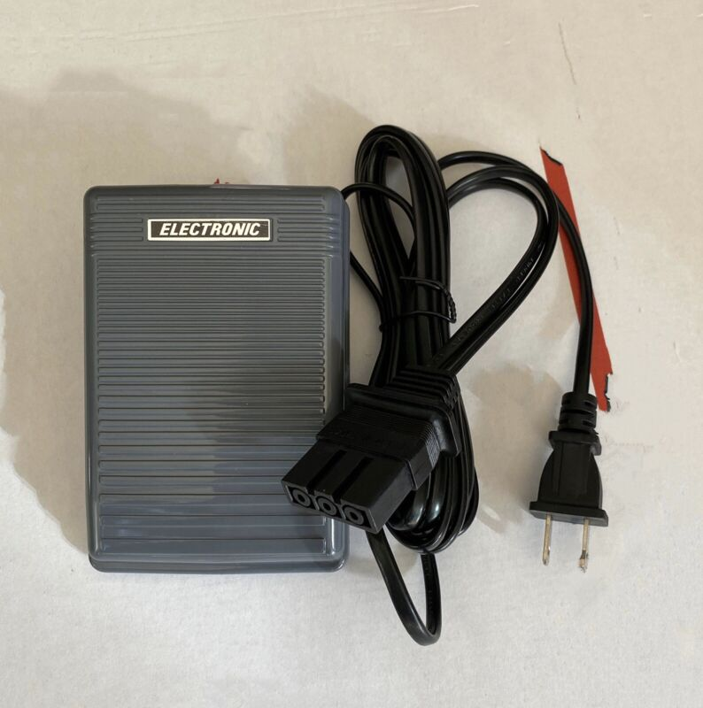 FOOT CONTROL PEDAL & cord #J00360051 Brother Baby Lock Simplicity