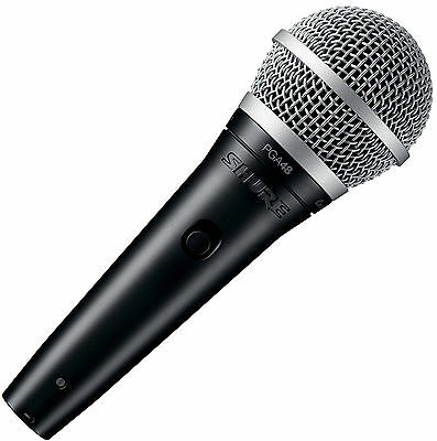 Shure PGA48-QTR Vocal Handheld Dynamic Microphone w/Cable