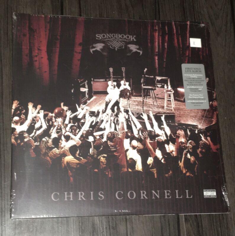 CHRIS CORNELL SONGBOOK 2LP VINYL RECORD 1ST PRESS SEALED RARE SOUNDGARDEN