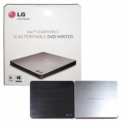 LG External DVD/CD Burner Writer for Mac/Windows 10/8/7 Note