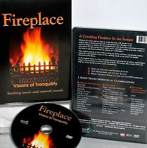 crackling fire home   garden ebay