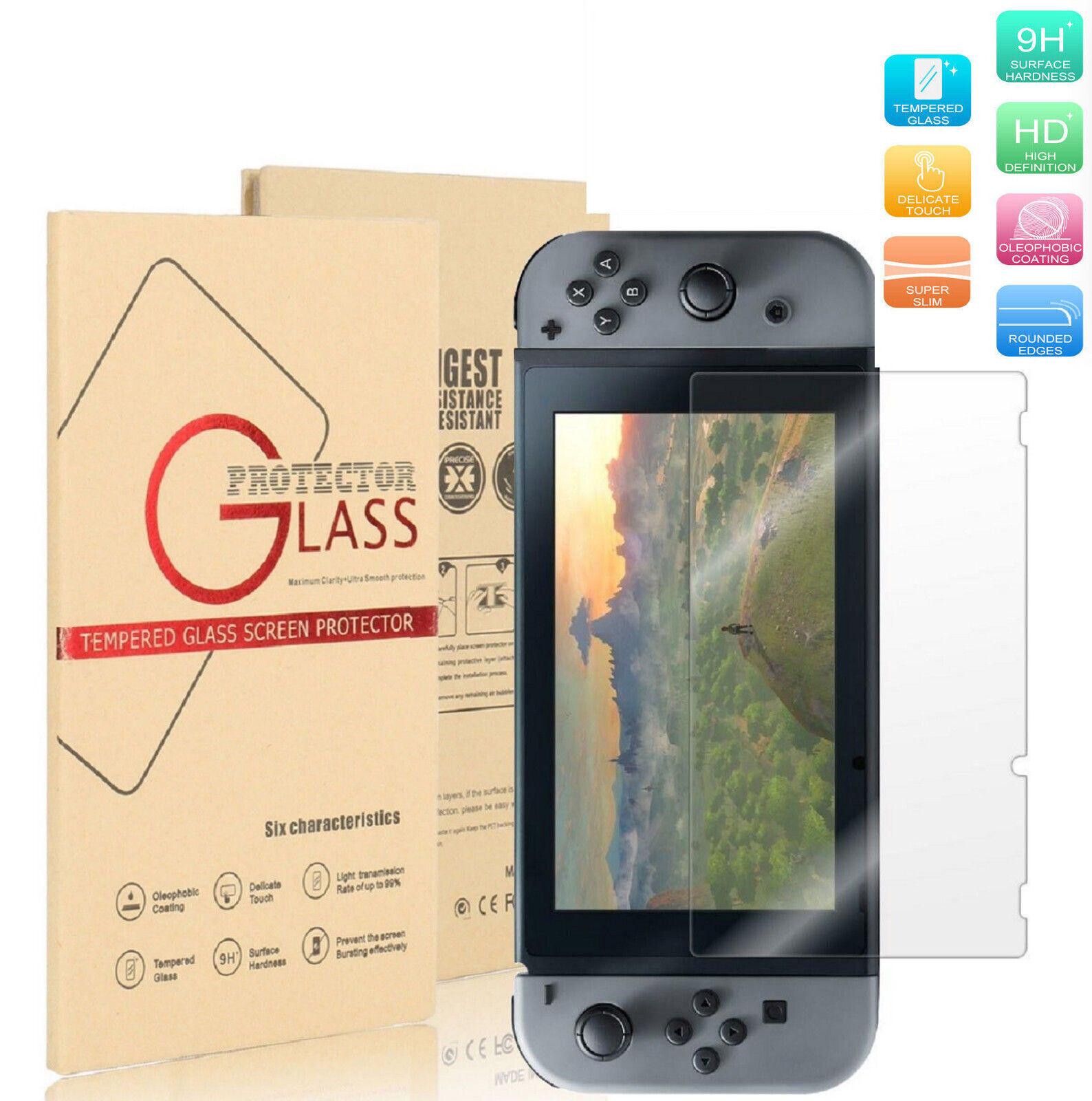 9H+ Nintendo Switch Ultra Clear Slim Premium Tempered Glass