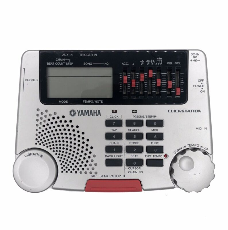 Yamaha Clickstation CLST-100 Digital Programmable Metronome — Discontinued