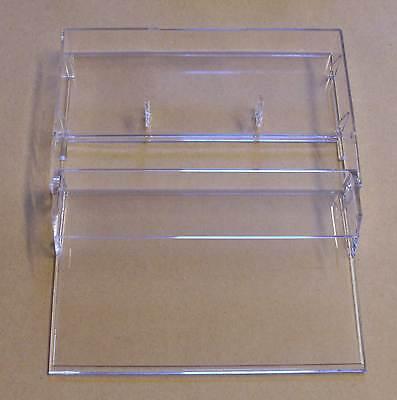 1 Kassettenhülle Leerhüllen f. Cassetten MCs Hüllen transparent  Kassetten Neu