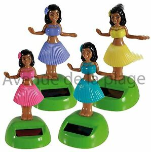 figurine danseuse tahitienne solaire achat vente d co voiture pas cher neuf ebay. Black Bedroom Furniture Sets. Home Design Ideas