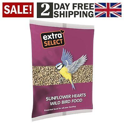 Extra Select Sunflower Hearts Wild Bird Food Bird Seeder Station Seeds 1 Kg